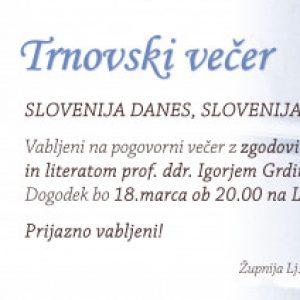 Group logo of Trnovski večer