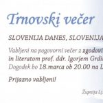 Group logo of Trnovski večer